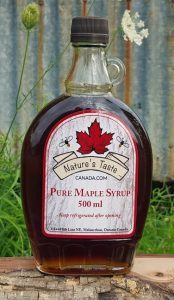 500ml Glass Pure Maple Syrup