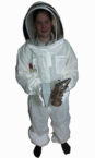 ventilated suit with smoker